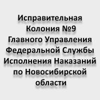 Исправительная Колония №9 Главного Управления Федеральной Службы Исполнения Наказаний по Новосибирской области
